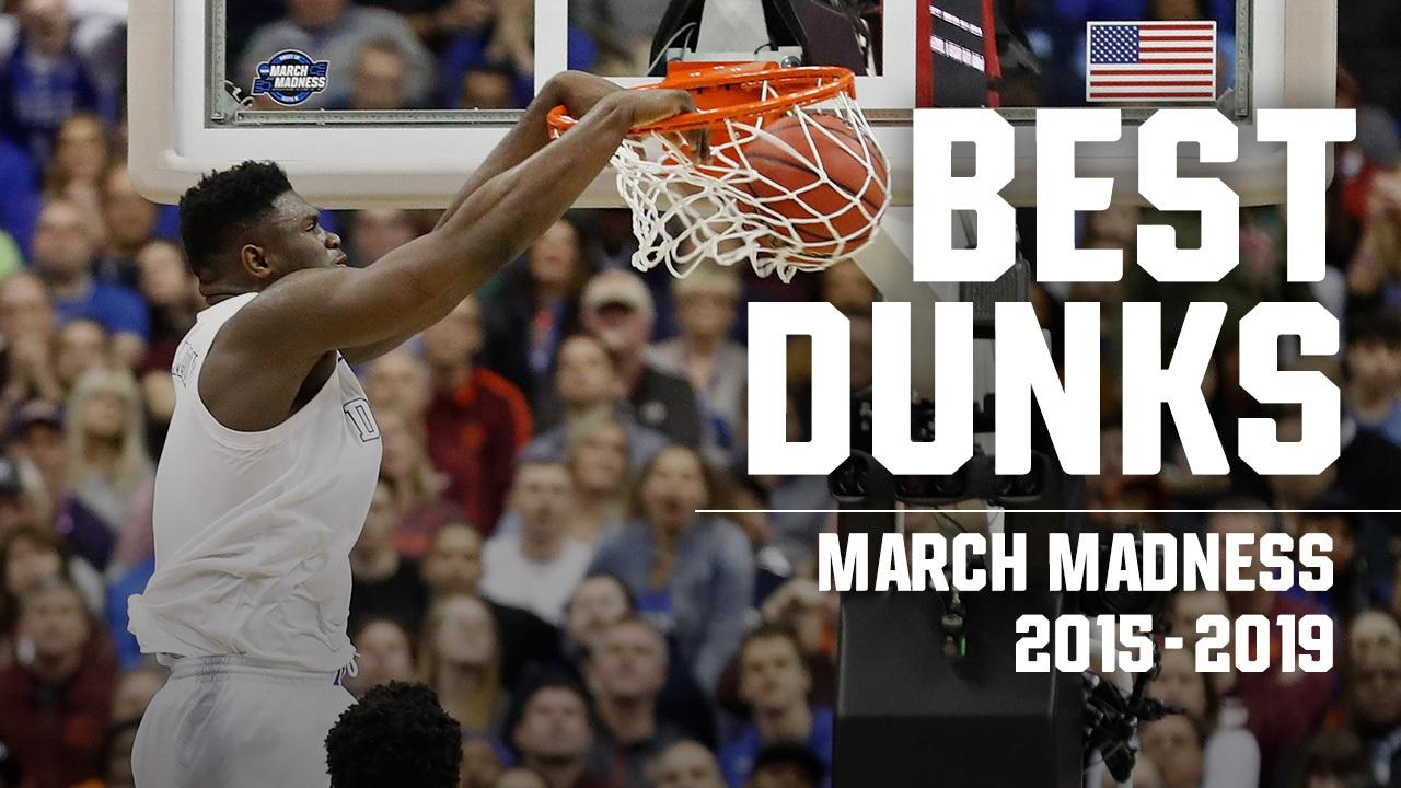 Watch the best March Madness dunks from 2015-19