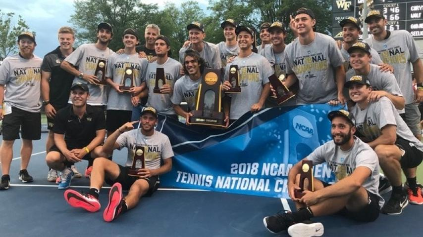 Wake Forest wins men's tennis national title on home court | NCAA.com