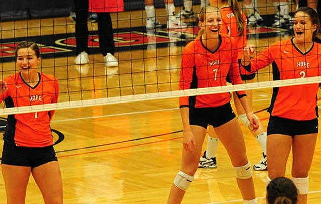 Hope, NCAA Volleyball, Division III