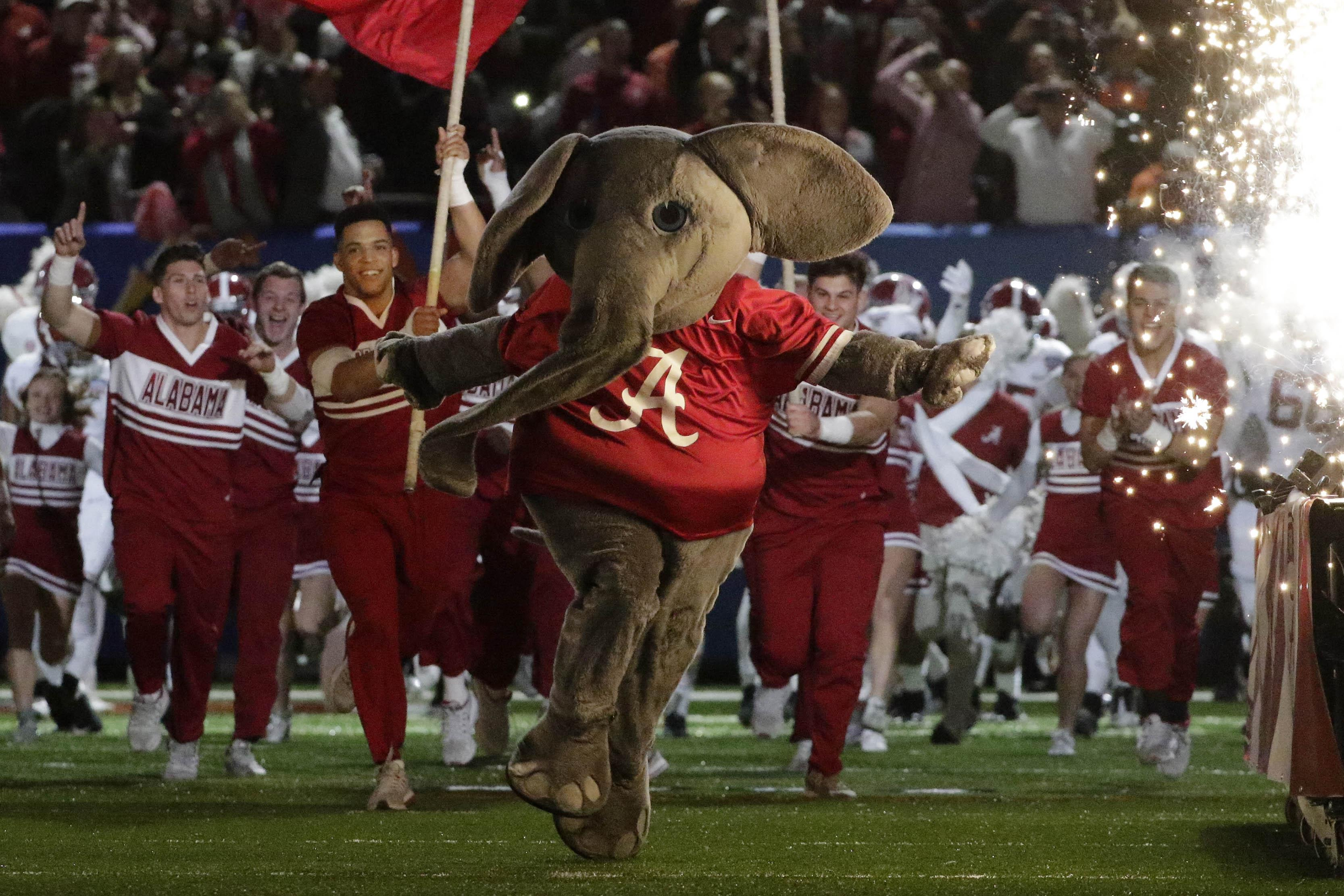 Alabama football mascot