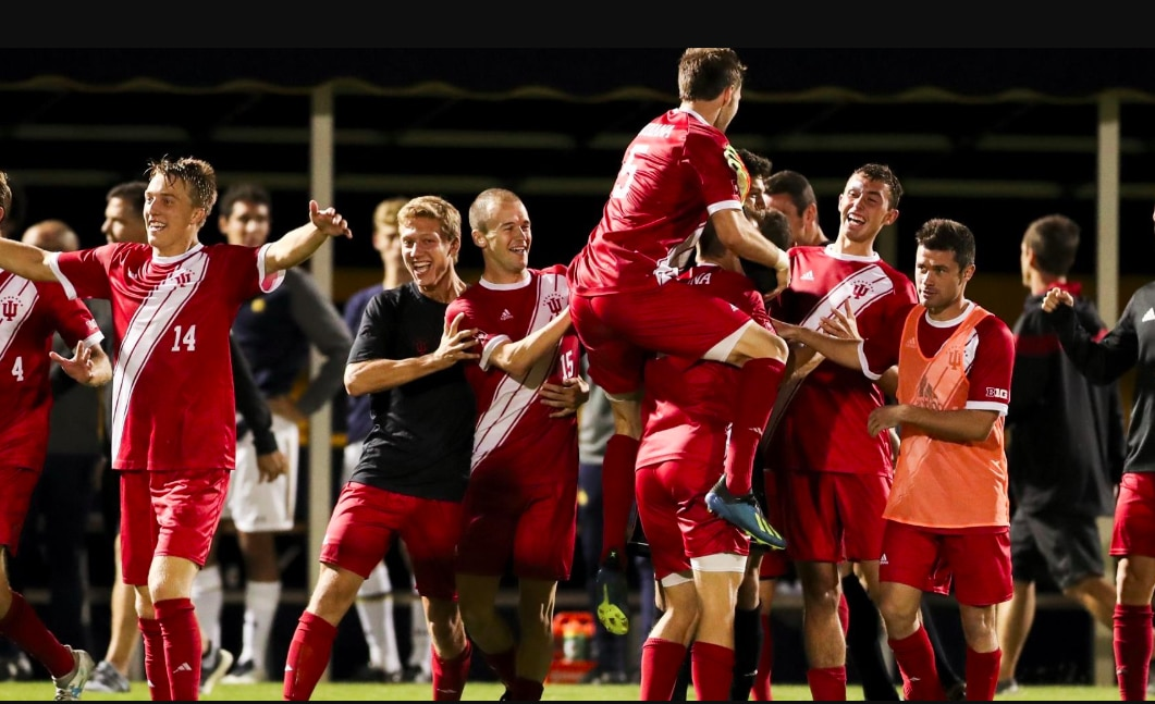 No. 2 Indiana defeats No. 8 Notre Dame with goal in overtime.
