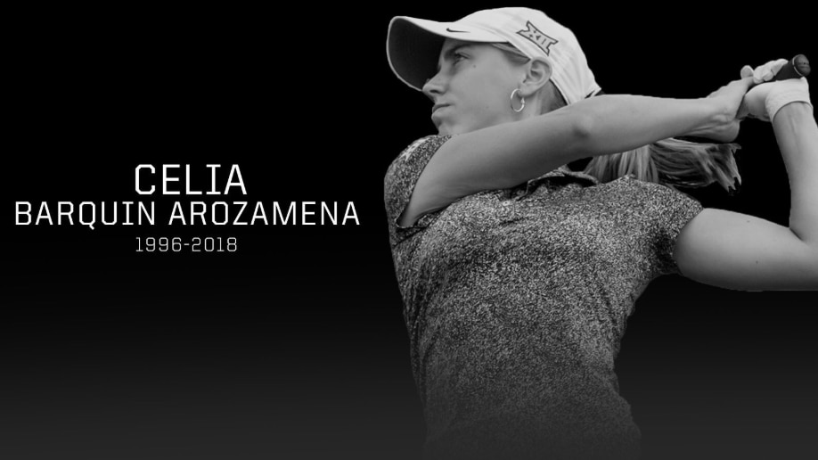 Iowa State honored former golfer Celia Barquin Arozamena this week.