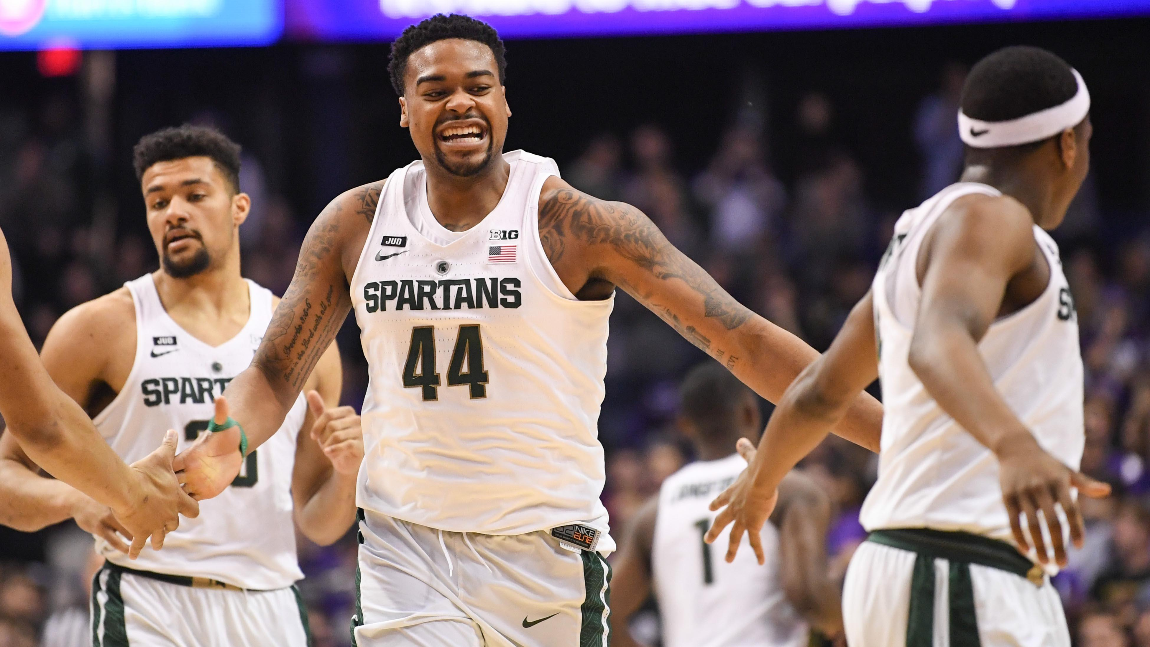 Michigan State's Nick Ward