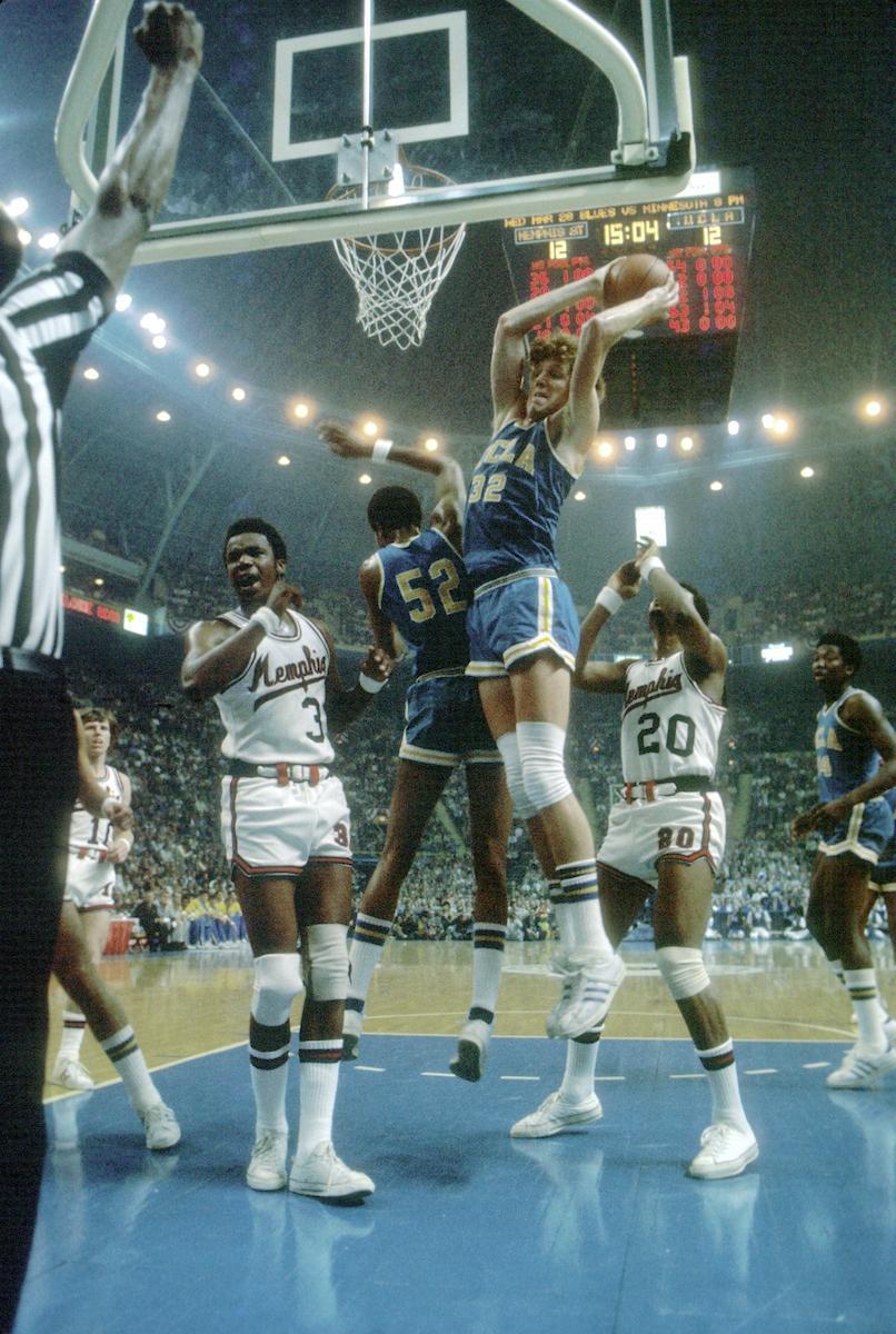 Bill Walton in the 1973 Final Four.