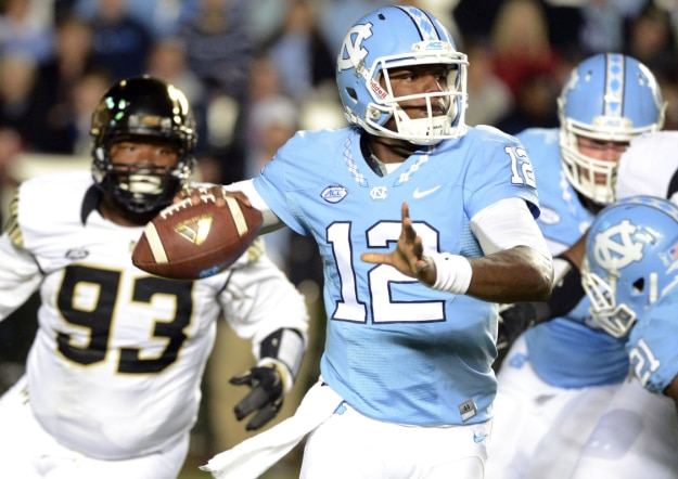 North Carolina and Wake Forest last met for the rivalry in 2015.