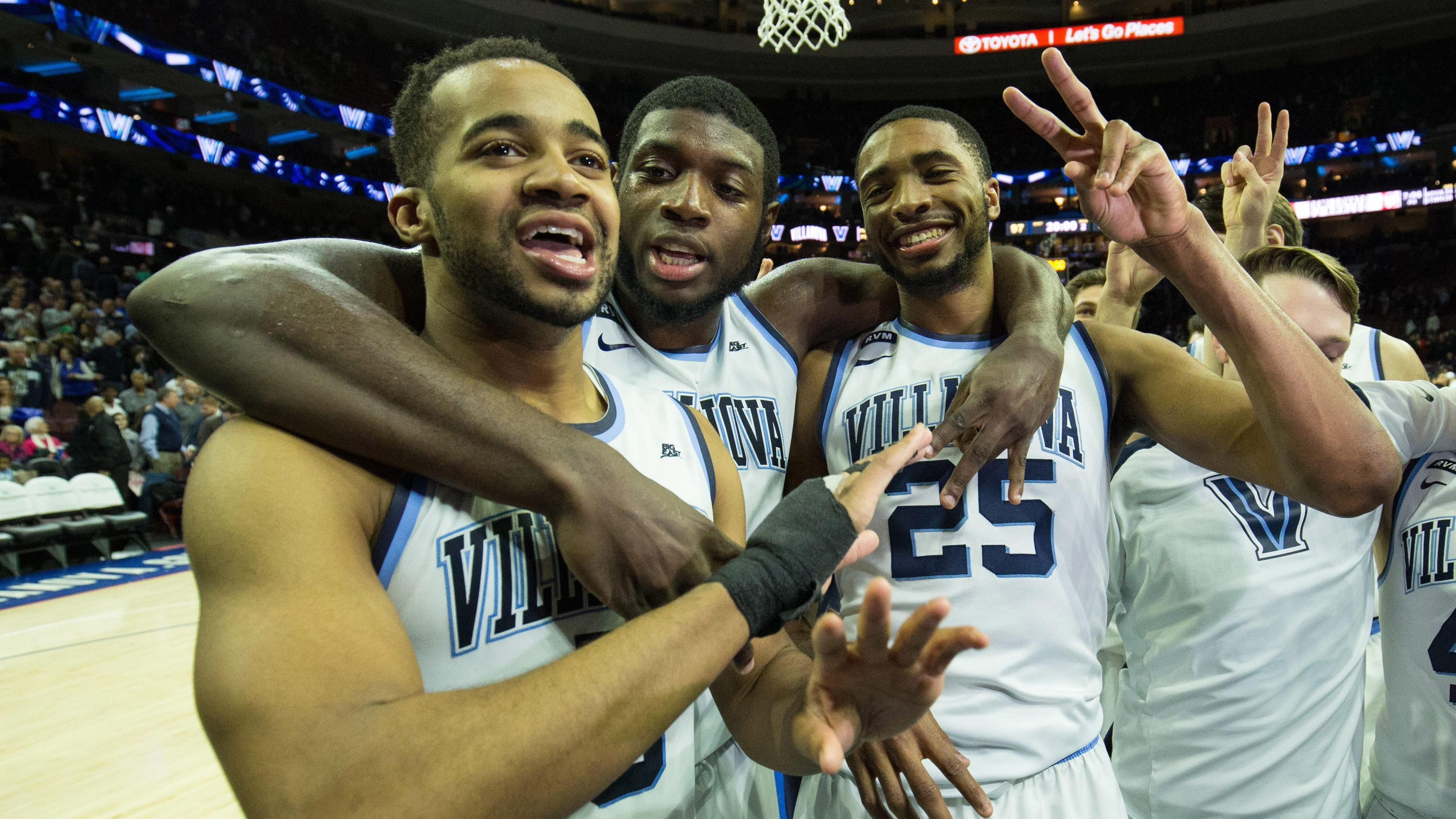 Villanova's Phil Booth and Eric Paschall