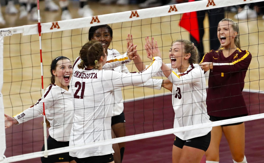 The No. 5 University of Minnesota volleyball program earned a 3-1 win over No. 3 Nebraska.