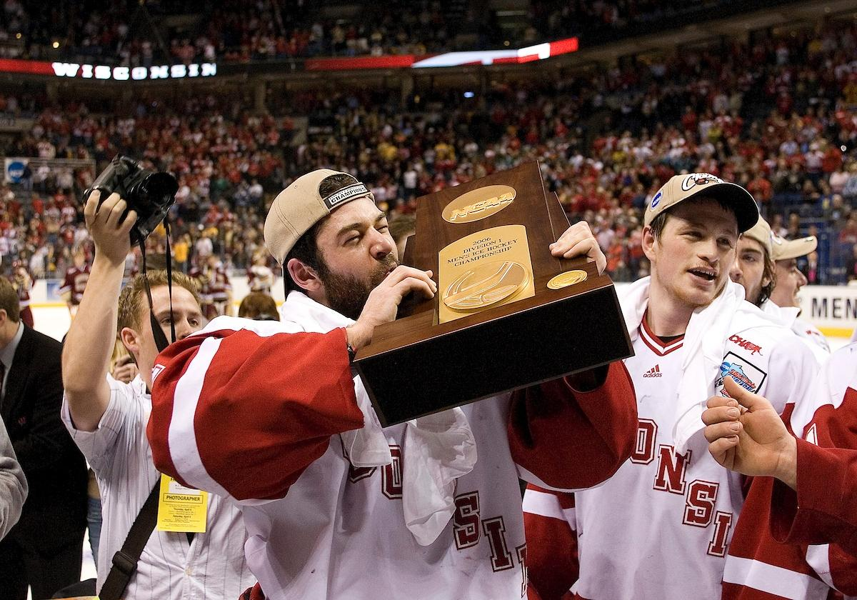 The Badgers won the 2006 national championship played in Wisconsin.