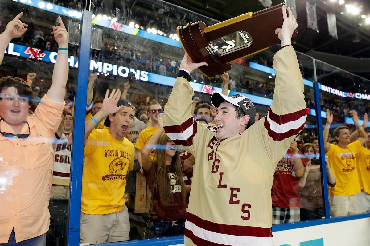 Boston College's last championship came in 2012.