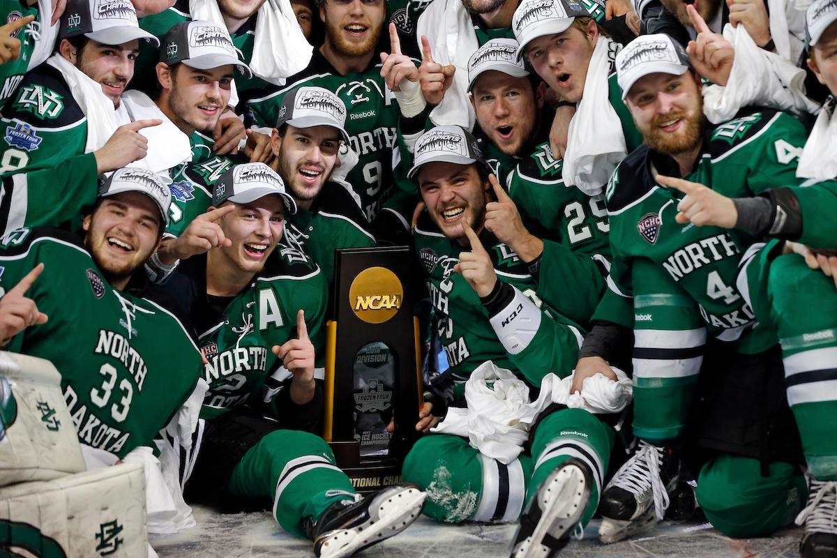 North Dakota won its eighth national championship in 2016.