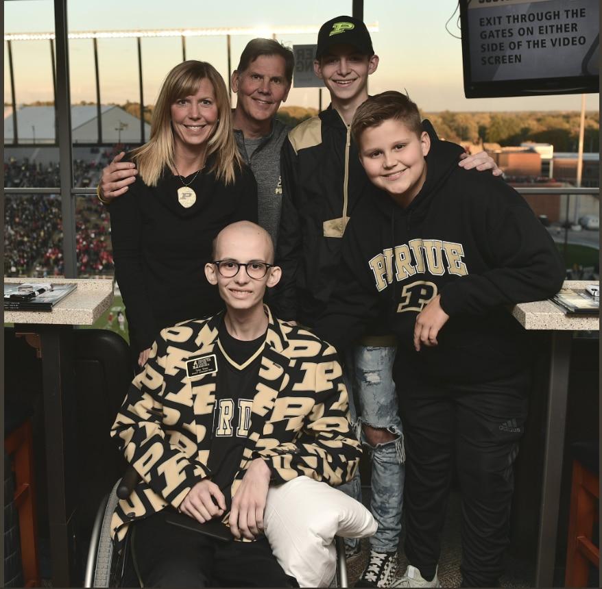 Tyler Trent, inspirational Purdue student battling terminal
