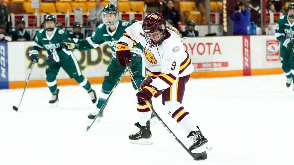 UMD's Rogge breaks scoring slump