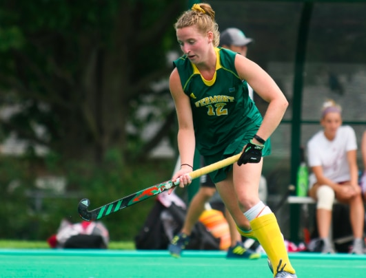 Vermont topped No. 15 Maine for the first time since 2007.