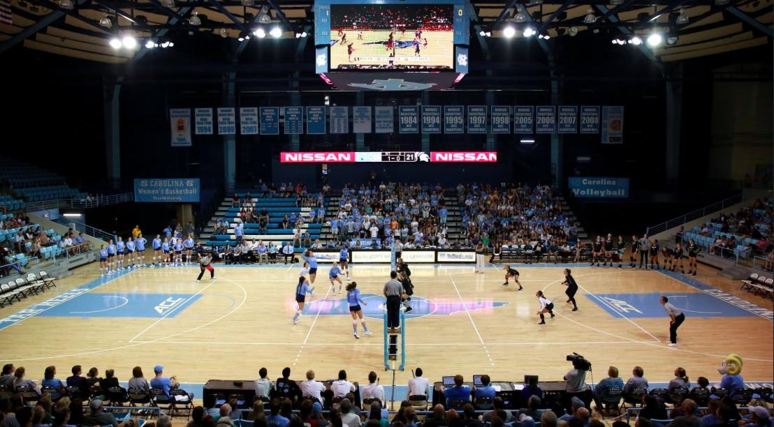 north carolina tar heels volleyball