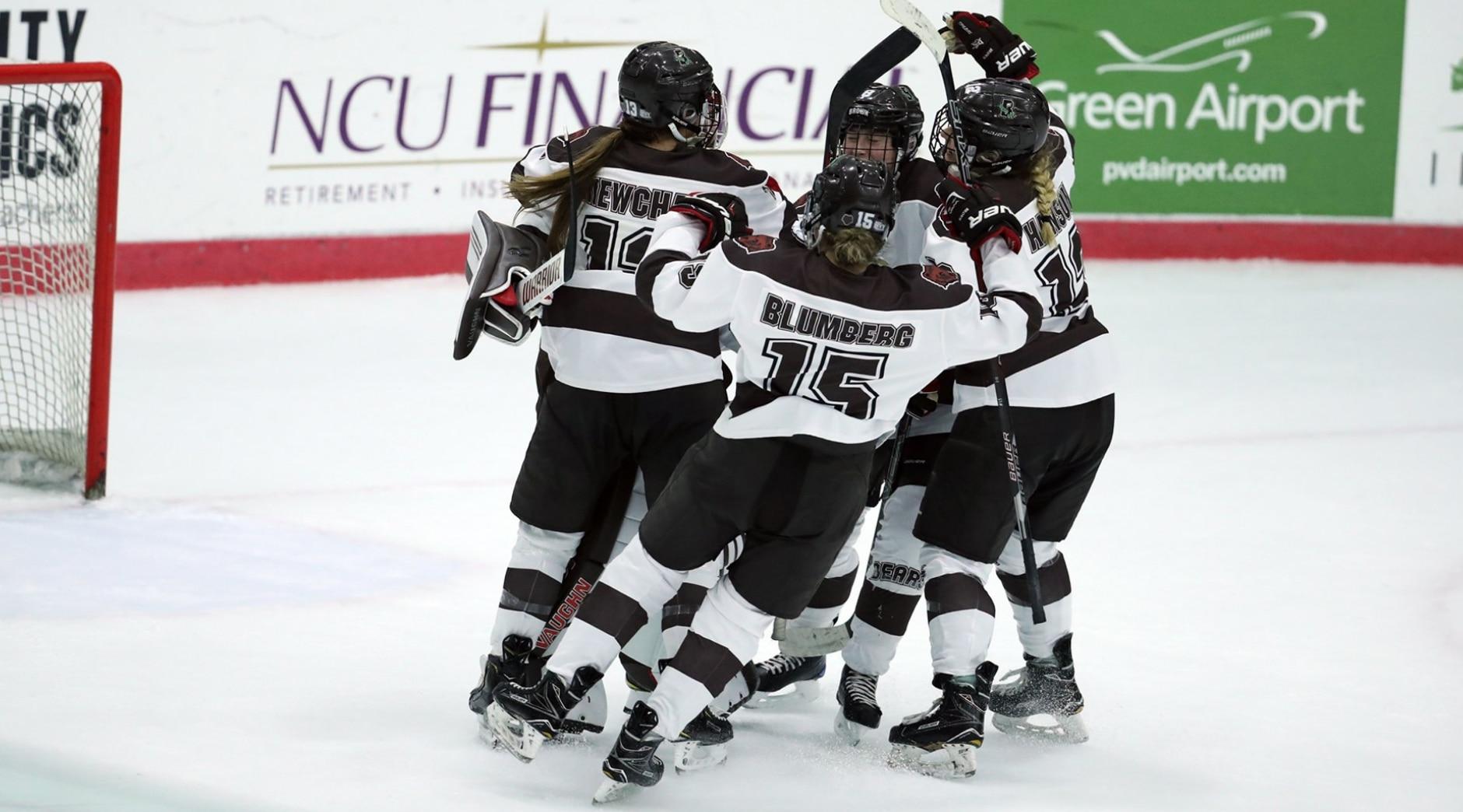 brown women's hockey