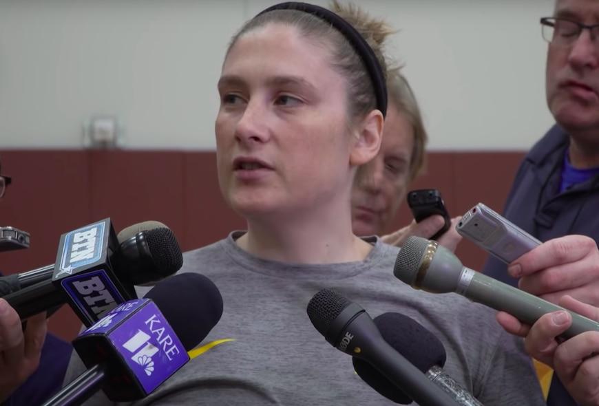 Lindsay Whalen is Minnesota's new coach.