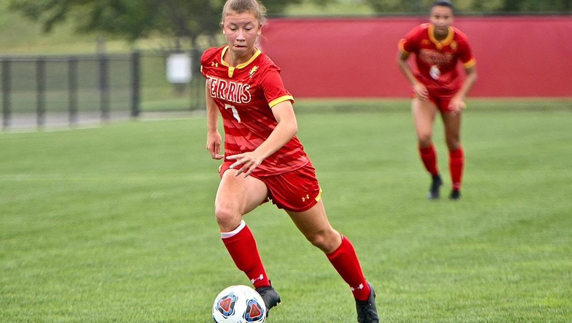 Ferris State continues on in the DII Women's Soccer Championship.