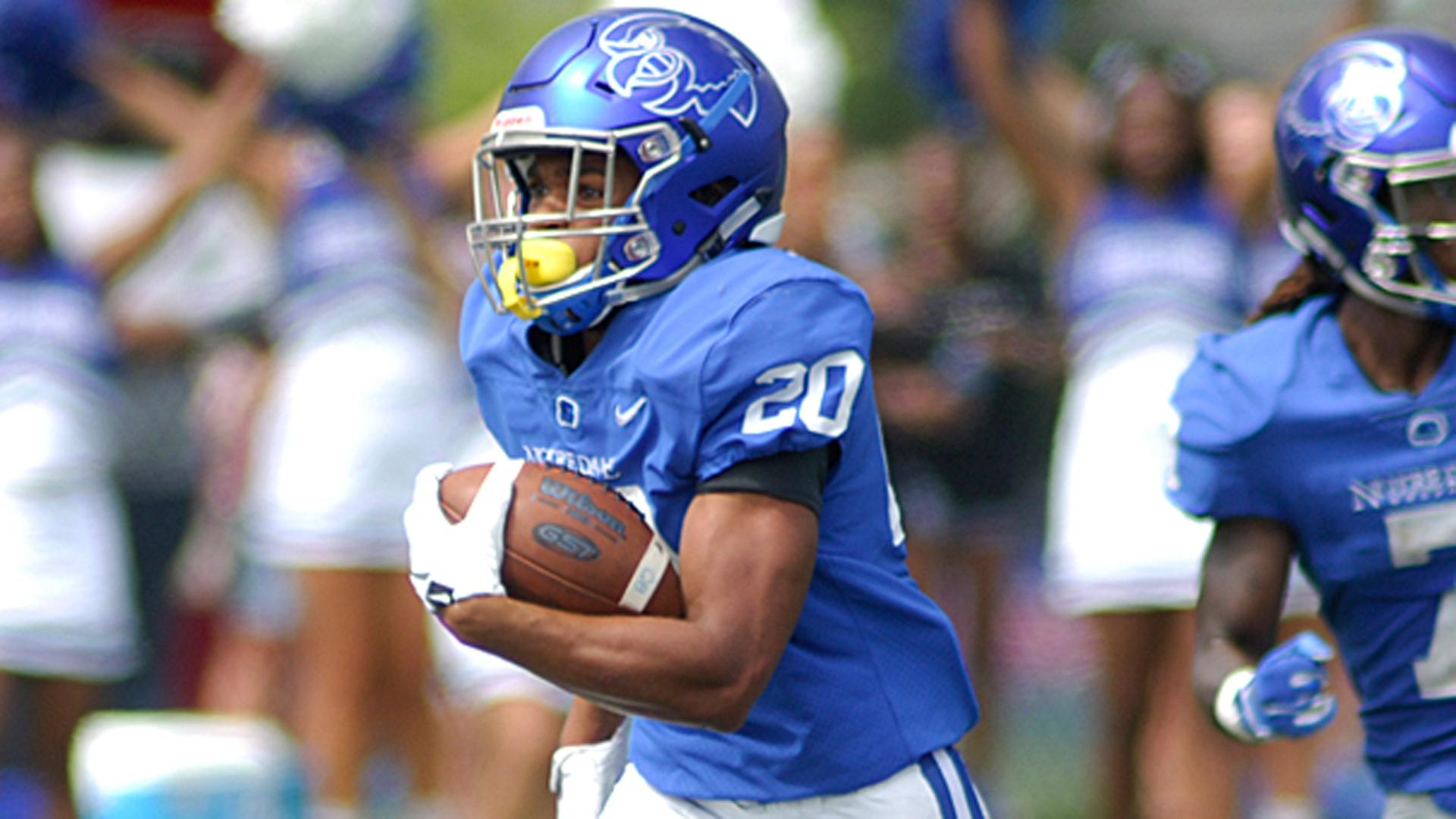 Notre Dame College's Jaleel McLaughlin is one of the nine finalists.