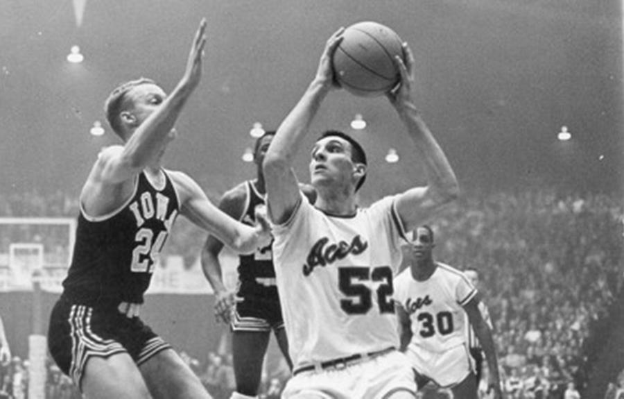 Jerry Sloan led Evansville to two-straight DII men's basketball national championships.