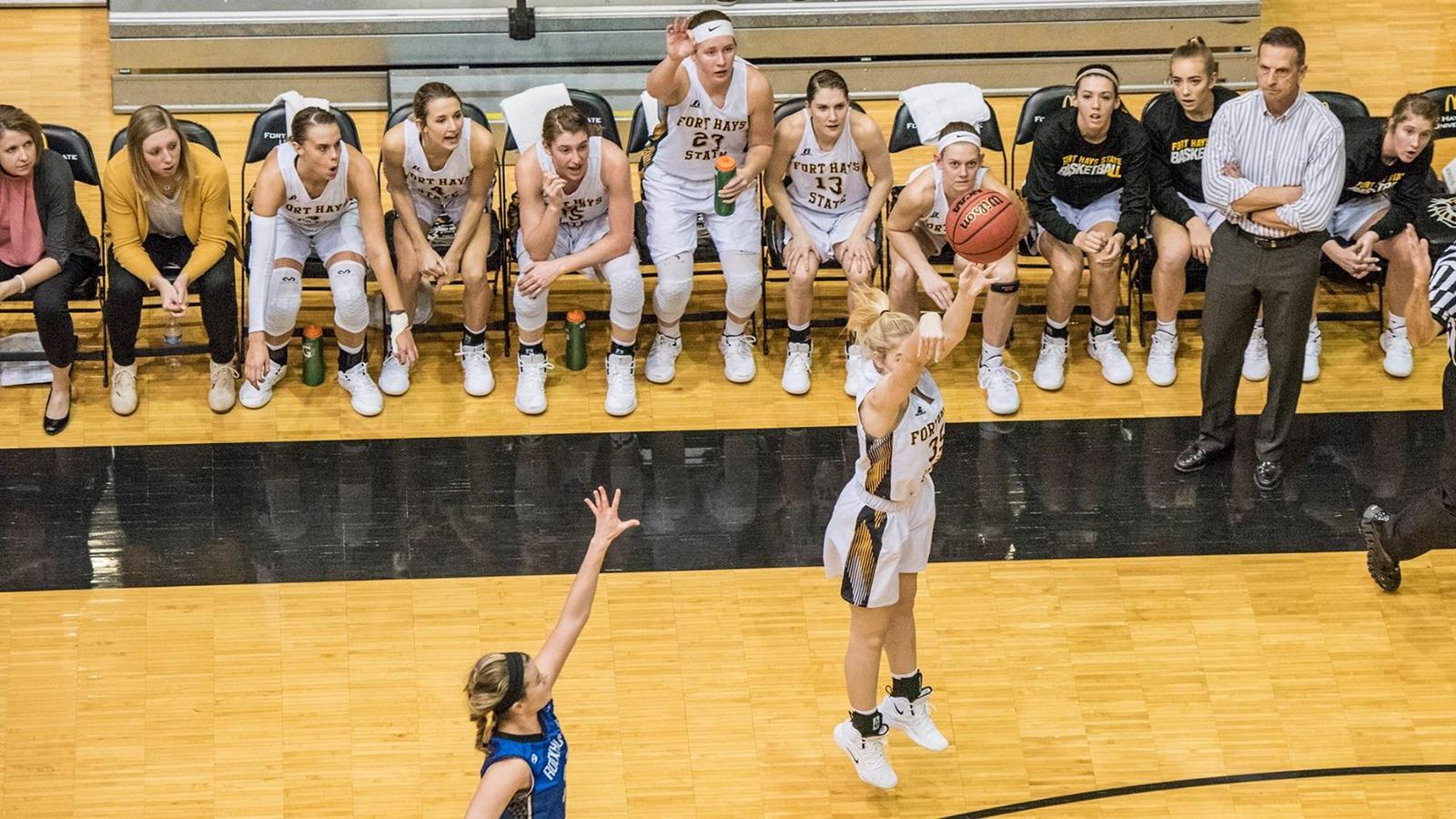 Fort Hays State opens the second half of the DII women's basketball season against three top 25 teams.