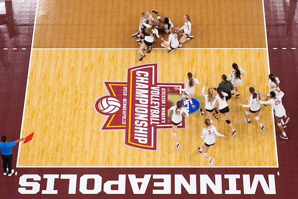 stanford wins volleyball champ