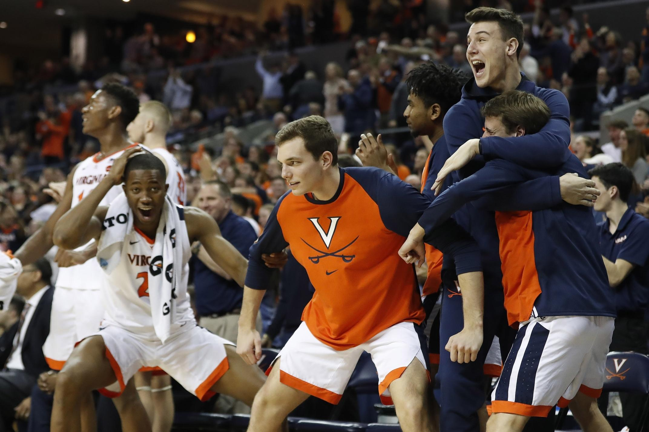Virginia basketball is the only team left undefeated