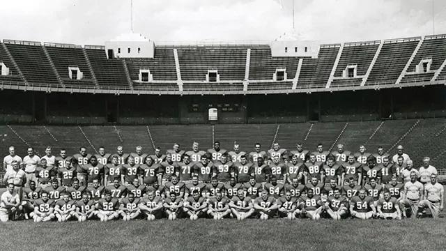 Ohio State won a national title in 1954.