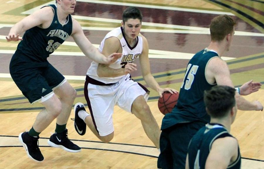JT Shumate hopes Walsh can get to the DII men's basketball tournament.