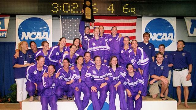 Truman dominated the DIII women's swimming and diving championship in the 2000s.
