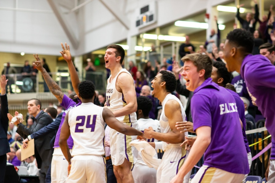 Loras men's basketball takes down No. 1 ranked Nebraska Wesleyan