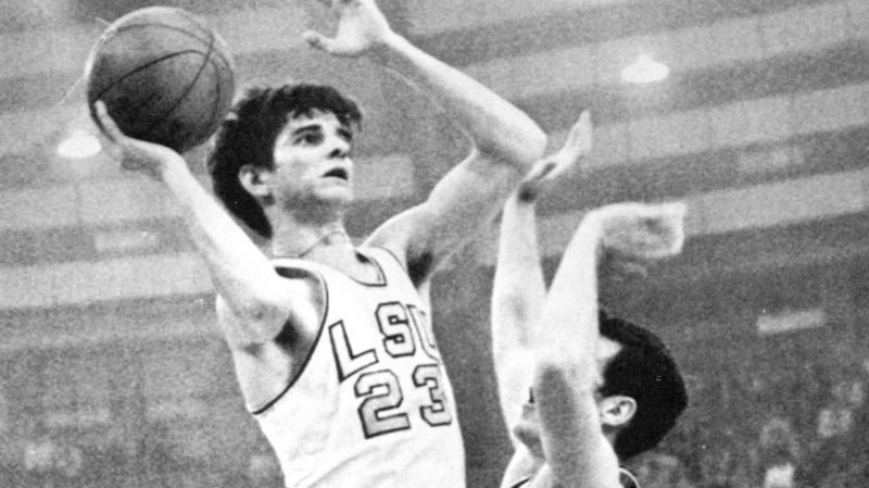 LSU's Pete Maravich is men's college basketball's all-time scoring leader.