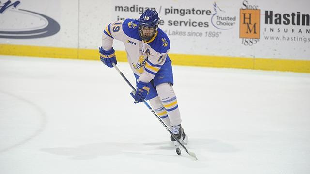 Anthony Nellis had three goals in earning top stars honors.