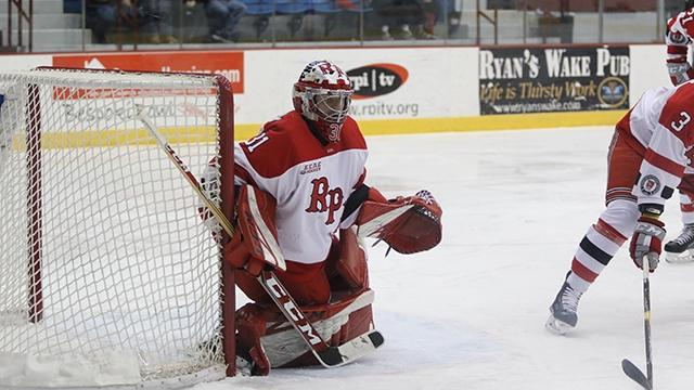 Owen Savory of Rensselaer had 43 saves to open the weekend.