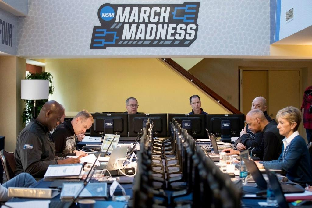 The NCAA selection committee meets in 2017.