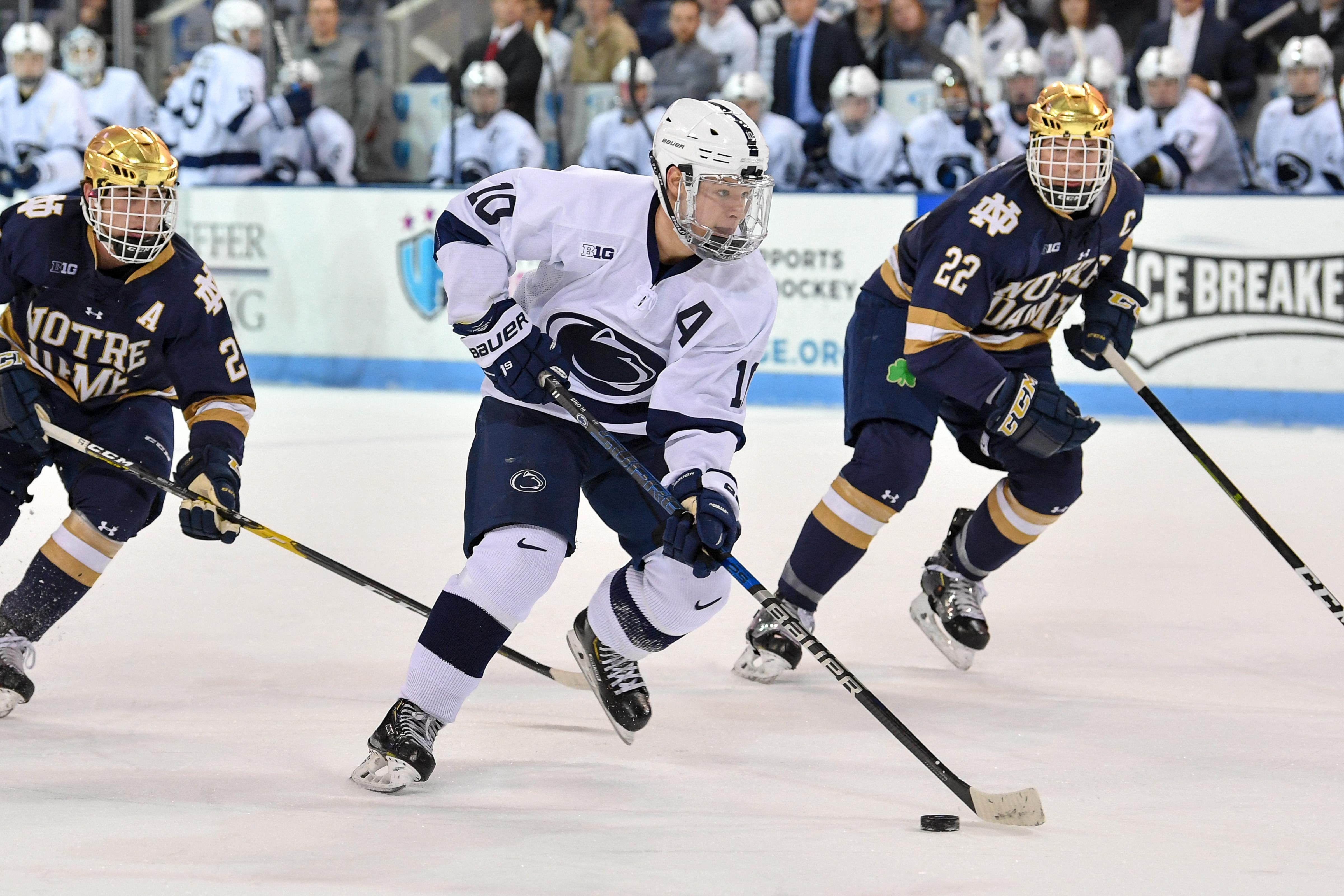 Penn State's Brandon Biro led a sweep of Minnesota over the weekend.