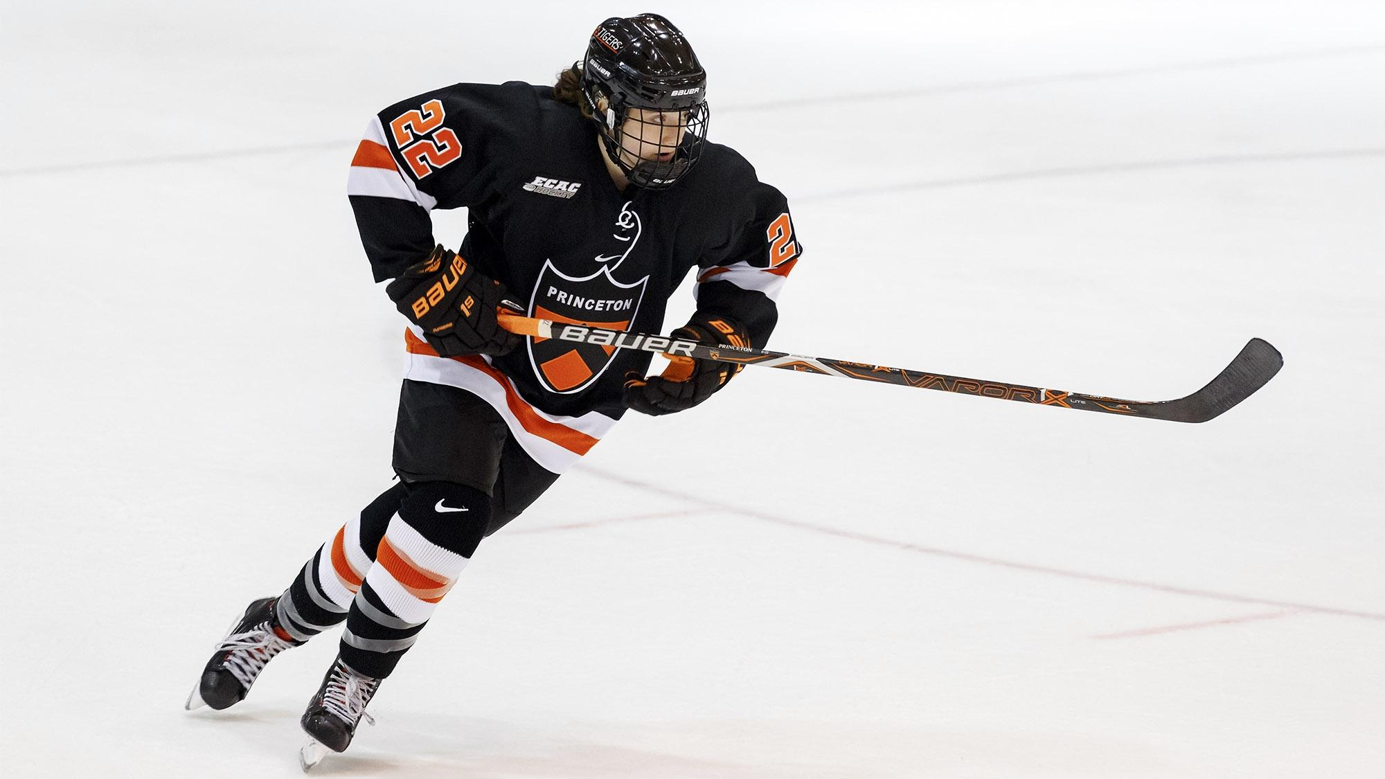 Maggie Connors was on fire for Princeton this weekend.