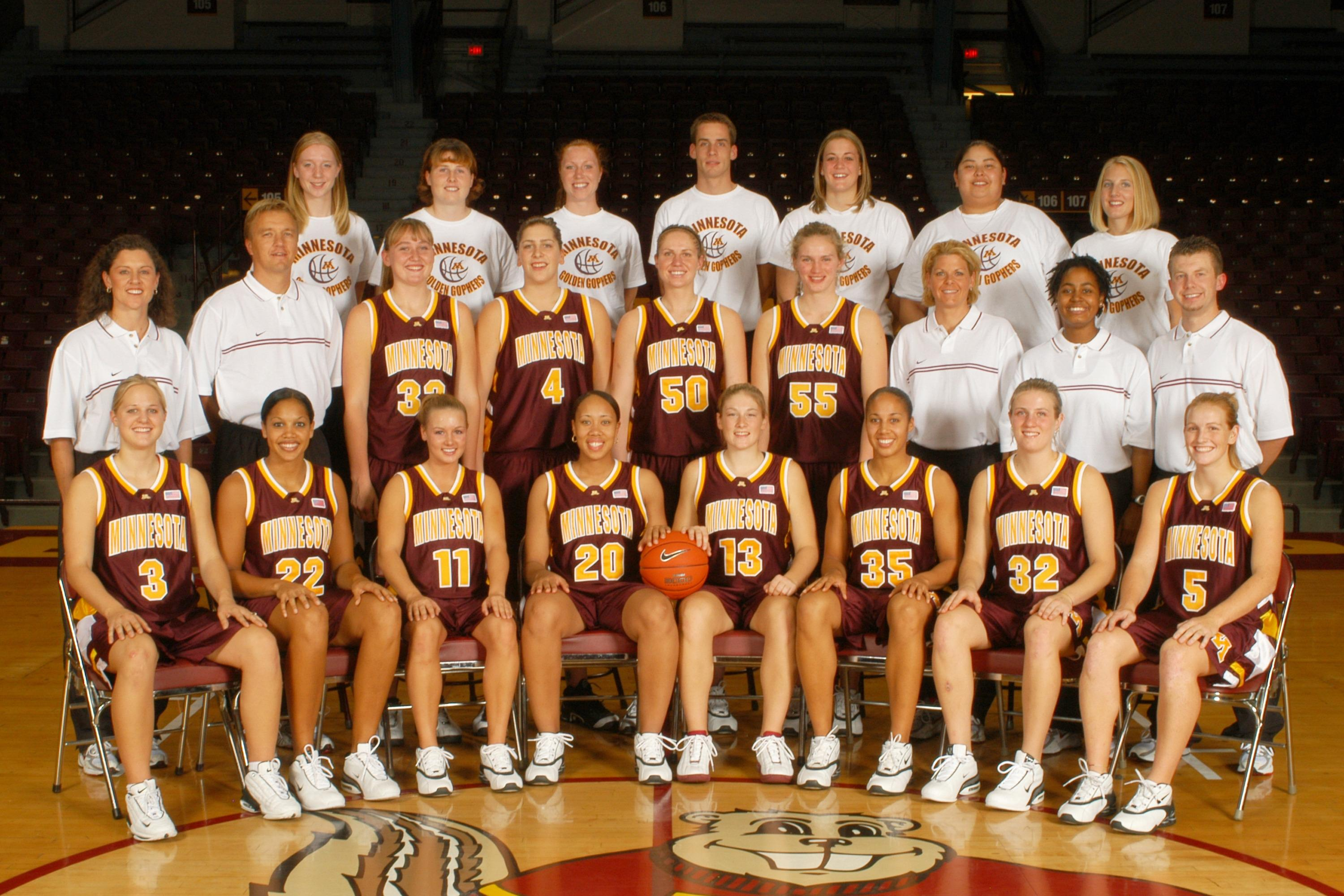 2004 Minnesota women's basketball team