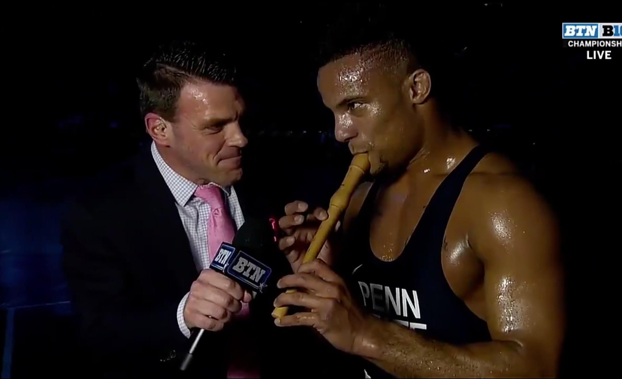 Mark Hall of Penn State wrestling