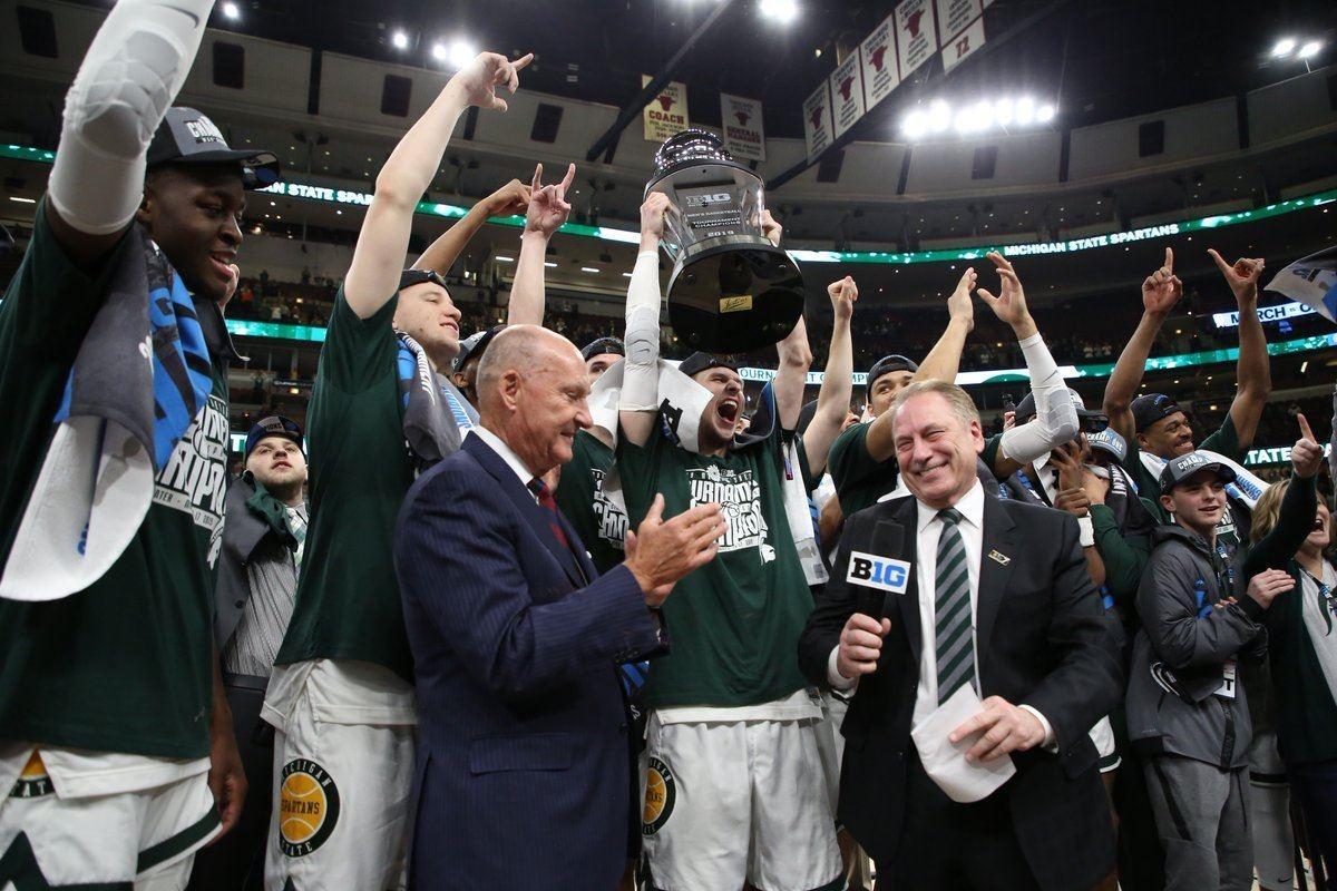 Michigan State earned a bid to the 2019 NCAA tournament.