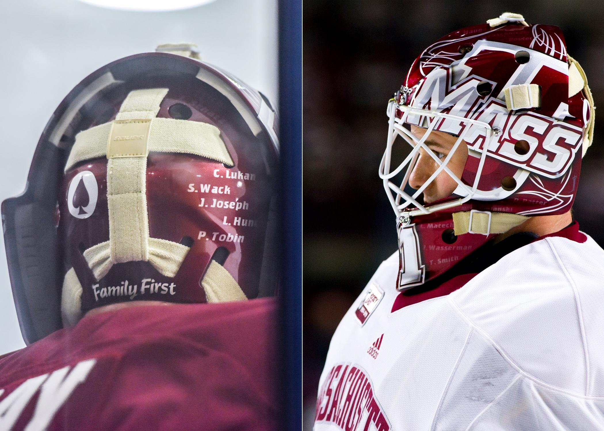 These Are The Coolest Goalie Masks In Men S College Hockey Ncaa Com