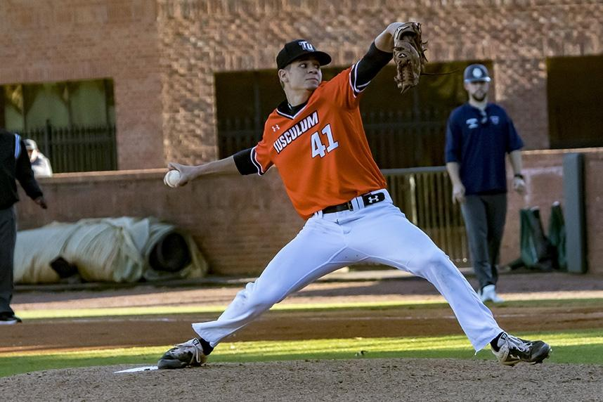 Charles Hall set a DII baseball record with 22 strikeouts.