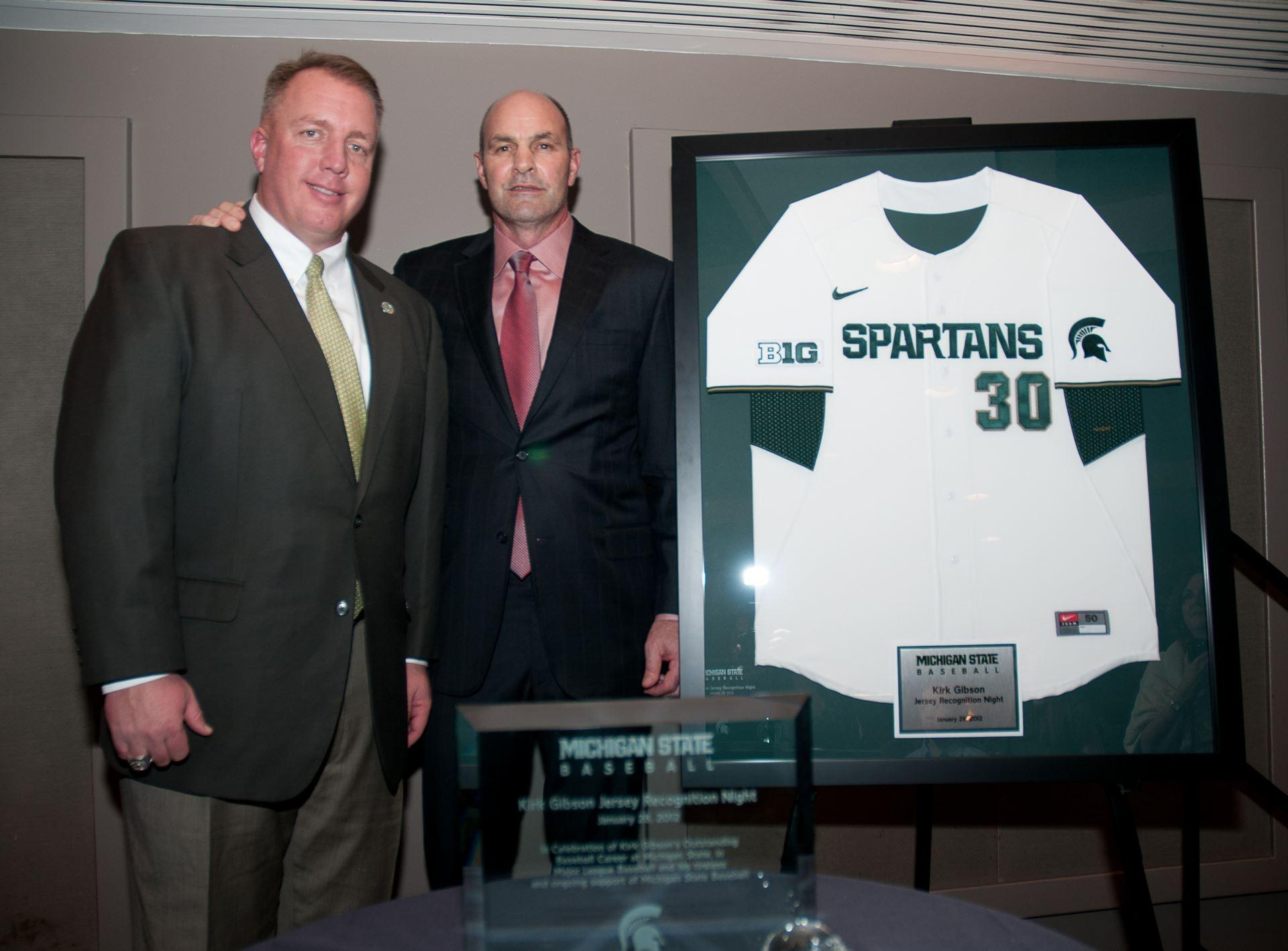 Kirk Gibson is a Michigan State icon.