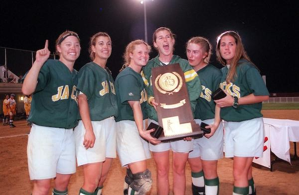 Humboldt State has two DII softball titles.