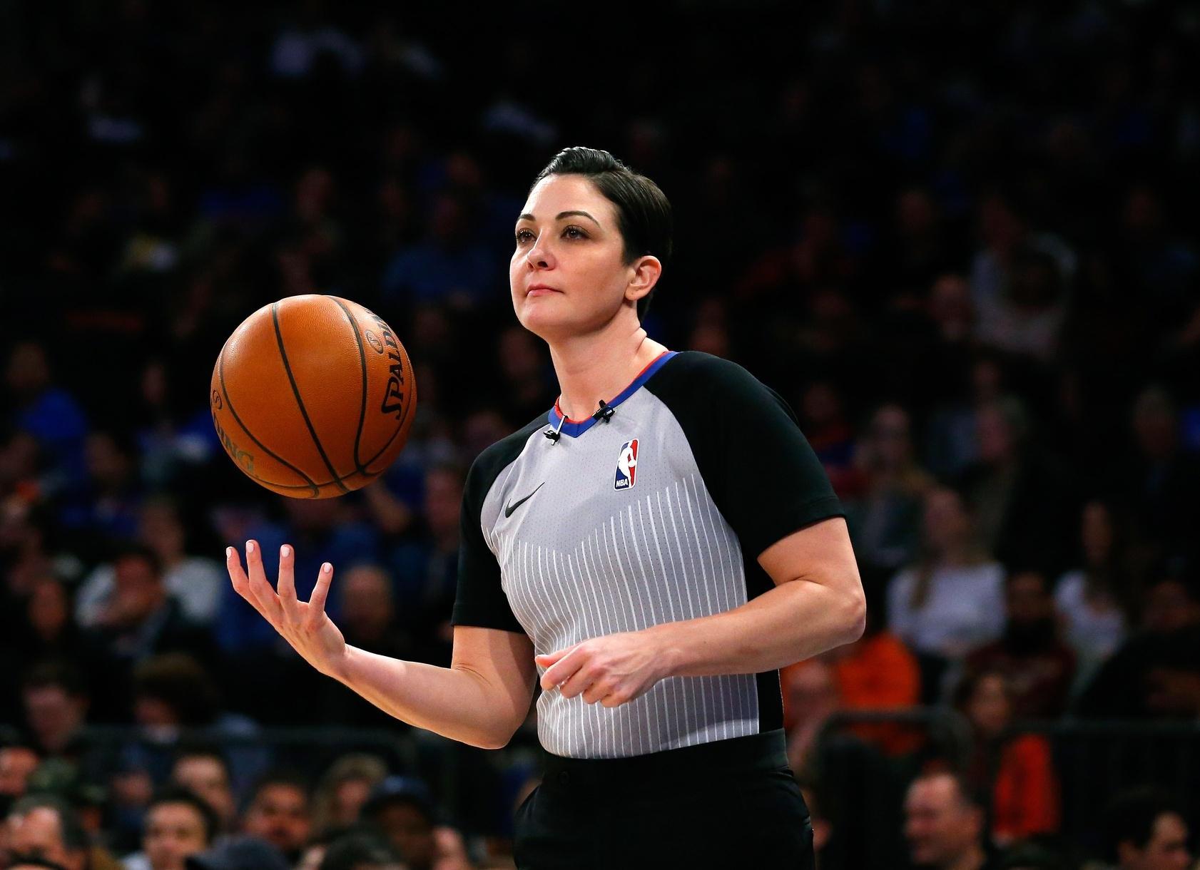 Lauren Holtkamp NBA referee.