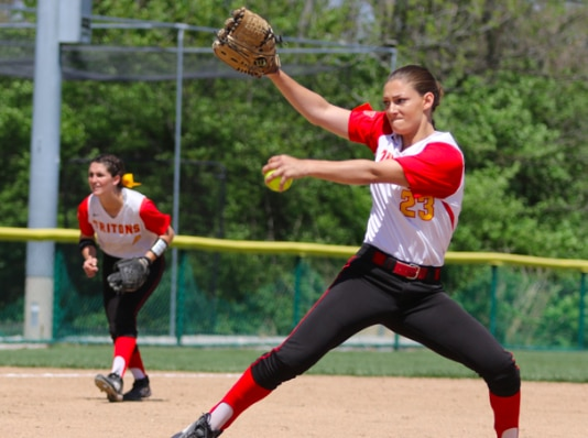 Hannah Perryman is DII softball's all-time strikeout leader.