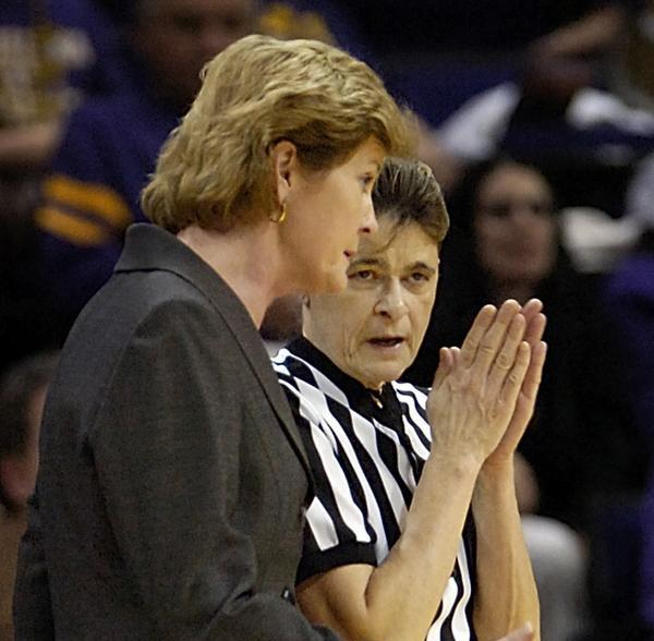 June Courteau's career as women's basketball official spans 51 years