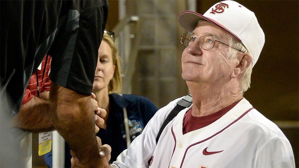 Florida State baseball coach Mike Martin.