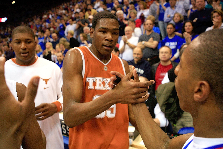 Kevin Durant at Texas.