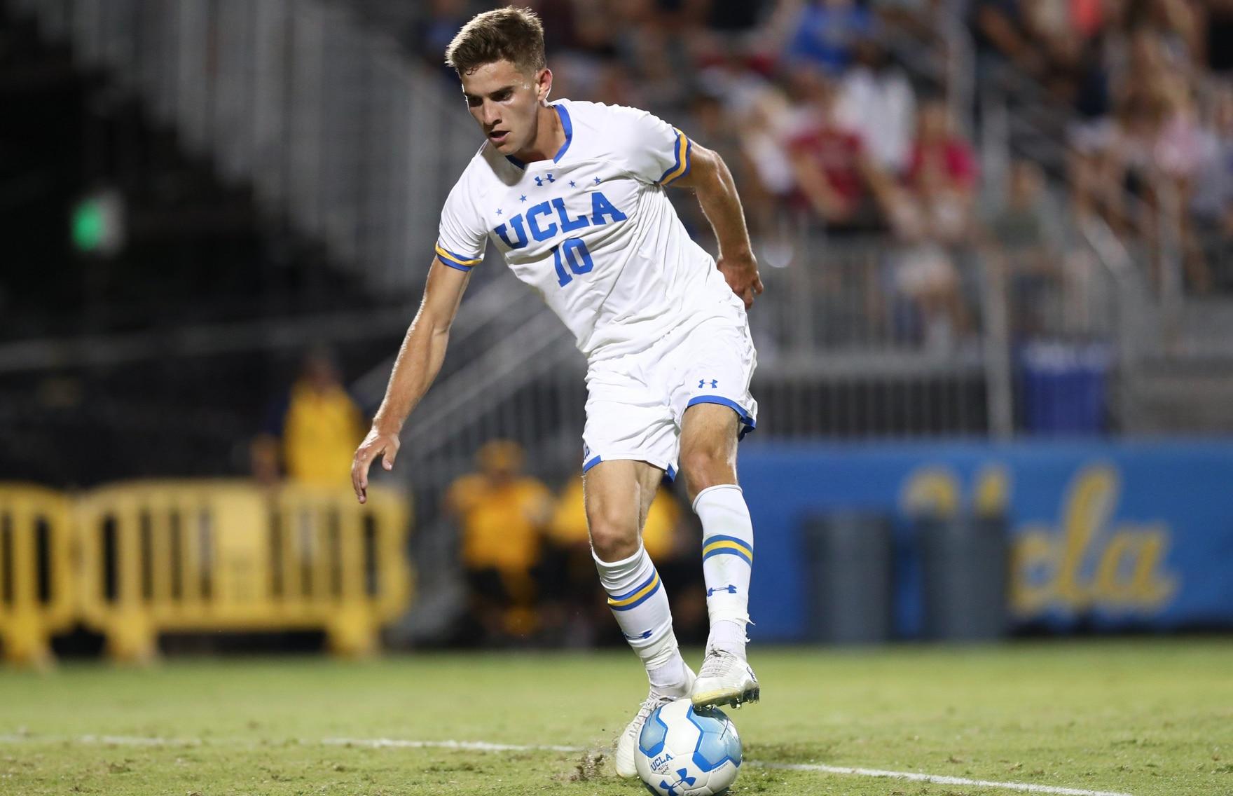 Men's soccer: Milan Iloski hat trick leads UCLA soccer past