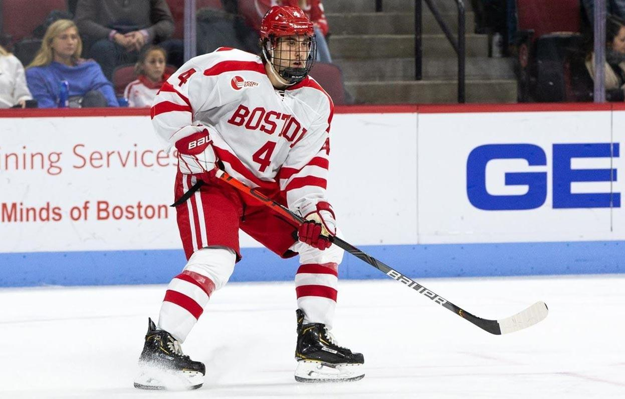 Farrance's eight power play goals are tied for the most in Division I
